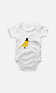 Baby Bodysuit Classical Canari
