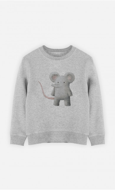 Kid Sweatshirt Introducing Barnabus