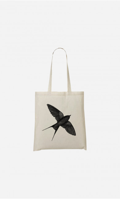 Tote Bag Night Swallow