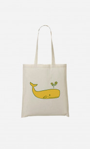Tote Bag Peace Whale