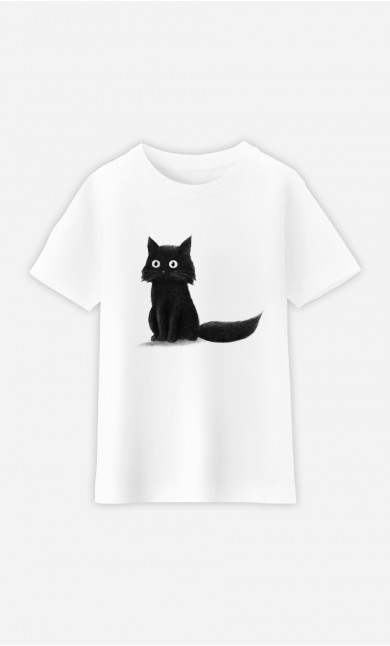 Kid T-Shirt Sitting Cat