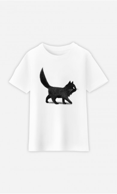 Kid T-Shirt Creeping Cat