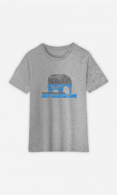 Kid T-Shirt Thirsty Elephant