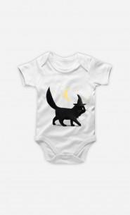 Baby Bodysuit Halloween Cat