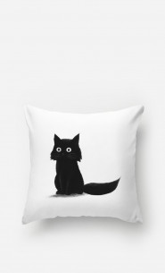 Pillow Sitting Cat