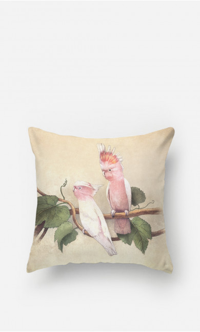 Pillow Pink Cockatoos