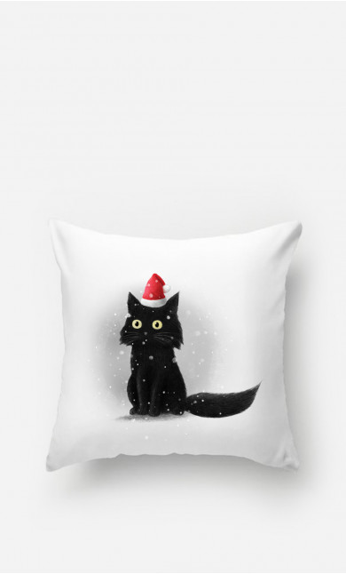Pillow Christmas Cat