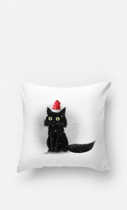 Pillow Christmas Cat
