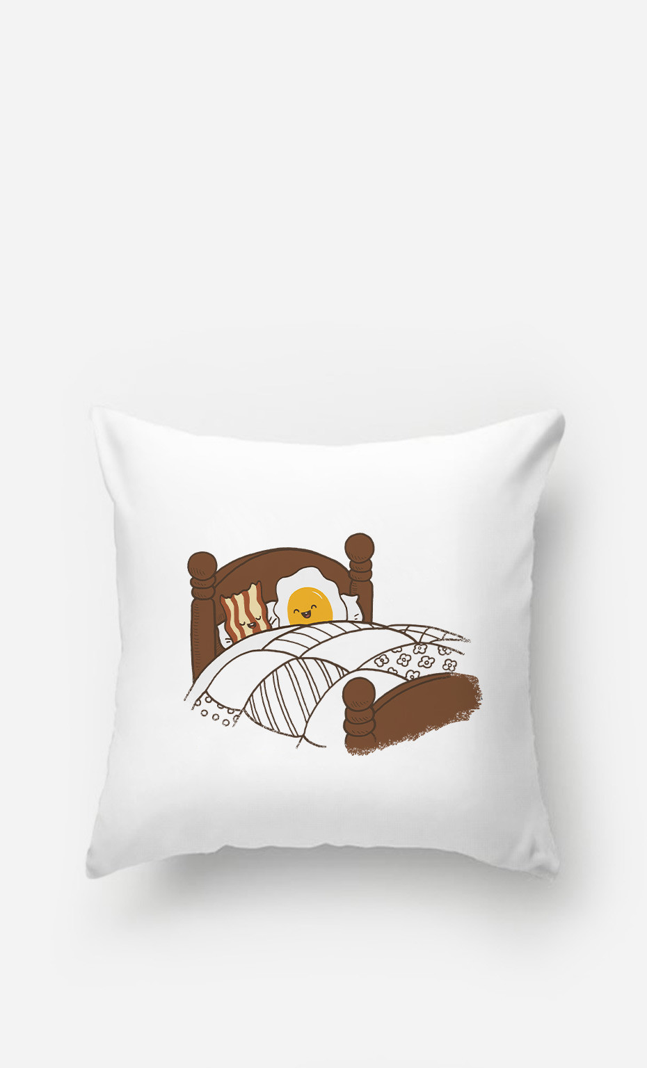 Pillow Breakfast In Bed