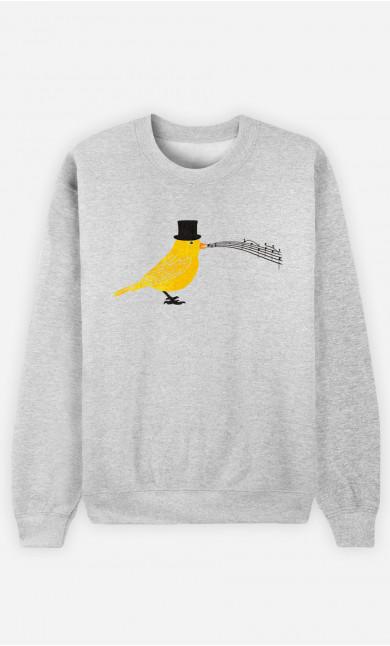 Woman Sweatshirt Classical Canari