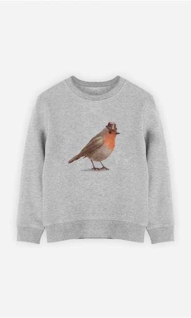 Kid Sweatshirt Dapper Robin