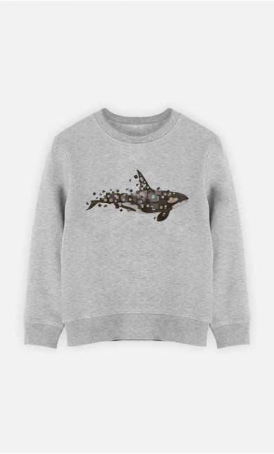 Kid Sweatshirt Killer Whale