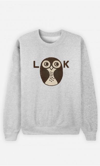 Man Sweatshirt Look