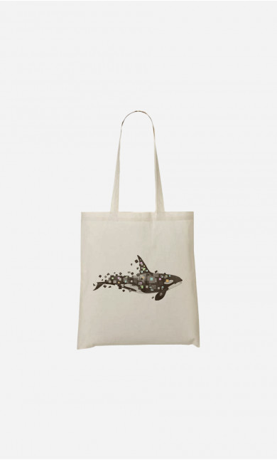 Tote Bag Killer Whale