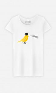 Woman T-Shirt Classical Canari
