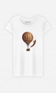Woman T-Shirt Departure