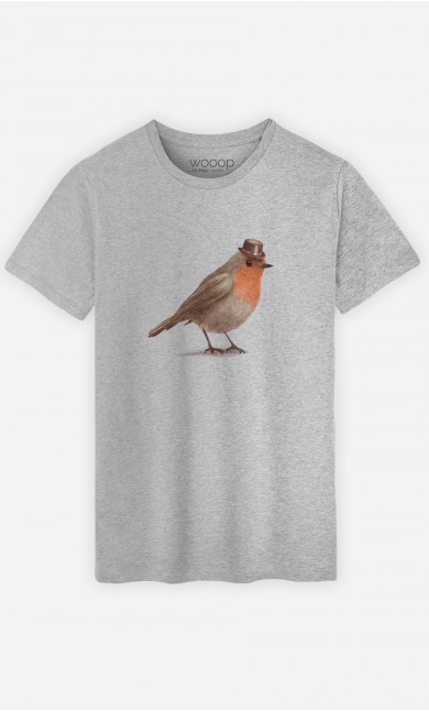 Man T-Shirt Dapper Robin