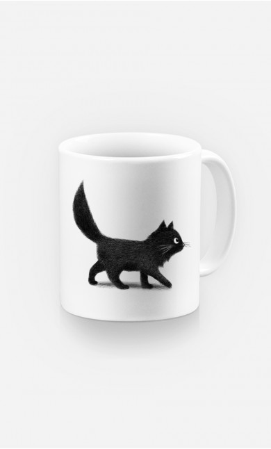 Mug Creeping Cat