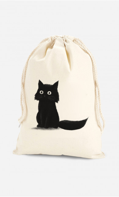 Cotton Bag Sitting Cat