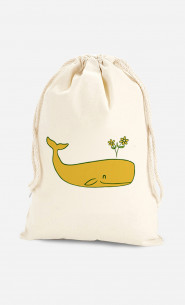 Cotton Bag Peace Whale