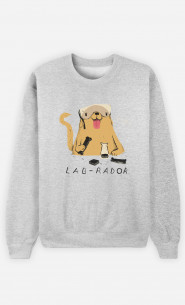 Woman Sweatshirt Labrador