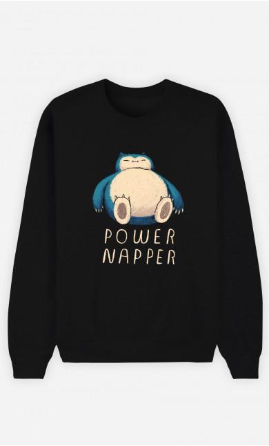 Woman Sweatshirt Power Napper