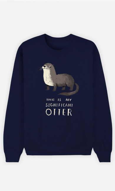 Woman Sweatshirt Significant Otter