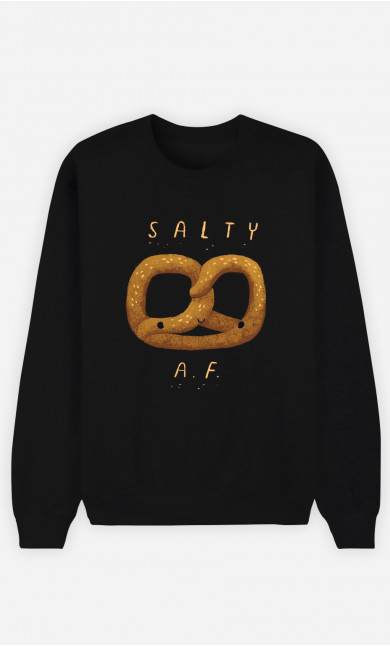 Man Sweatshirt Salty Af