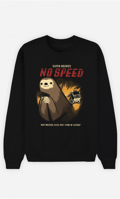 Man Sweatshirt No Speed