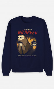 Man Sweatshirt No Speed