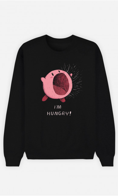 Man Sweatshirt I'm Hungry