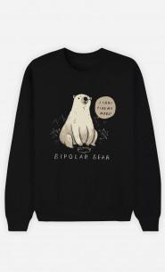 Man Sweatshirt Bipolar Bear