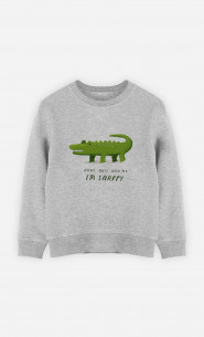 Kid Sweatshirt Snappy