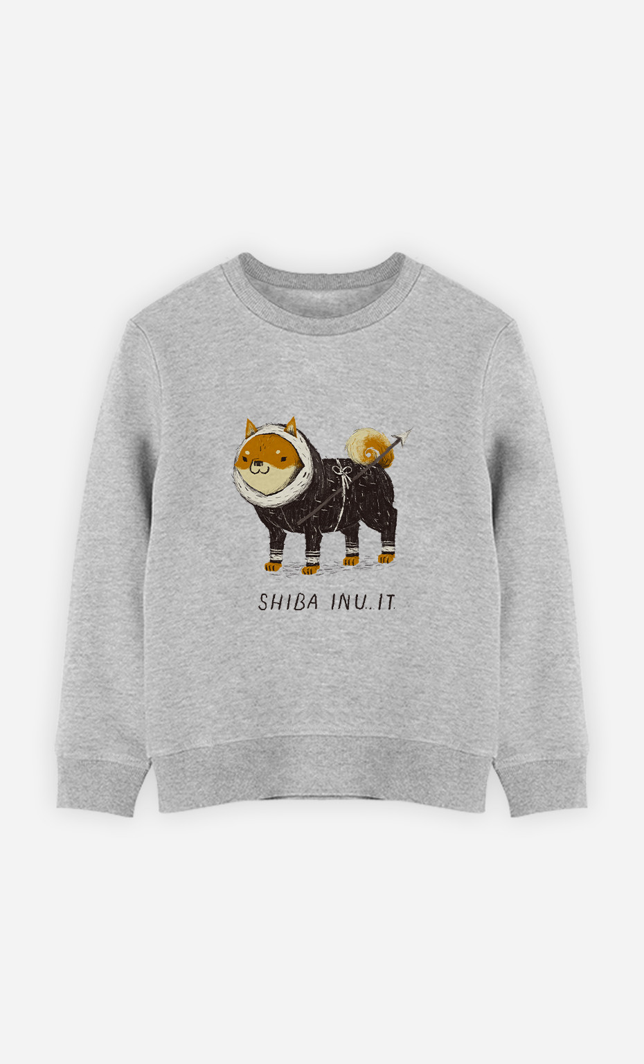 Kid Sweatshirt Shiba Inuit
