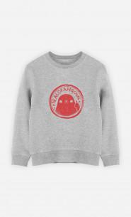 Kid Sweatshirt Seal Of Approval