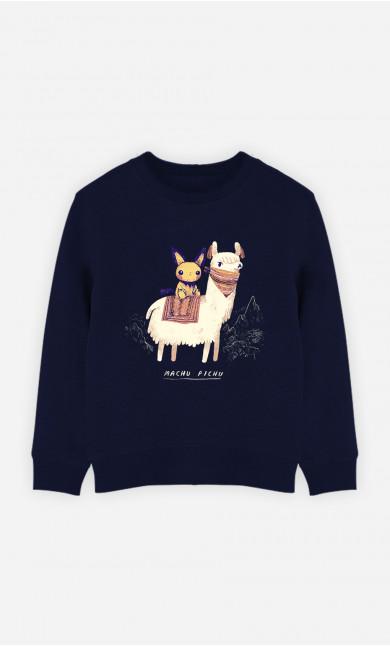 Kid Sweatshirt Machu Pichu