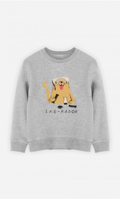 Kid Sweatshirt Labrador