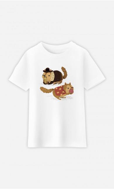 Kid T-Shirt Chip And Dale