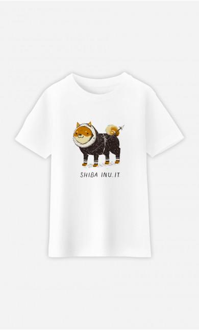 Kid T-Shirt Shiba Inuit