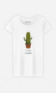 Woman T-Shirt Stay Sharp