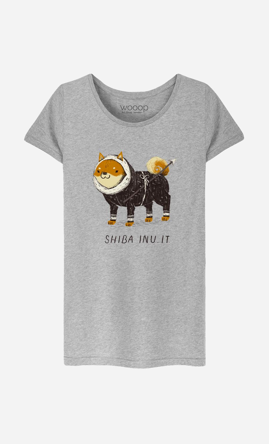 Woman T-Shirt Shiba Inuit