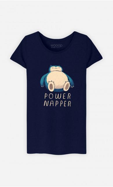 Woman T-Shirt Power Napper