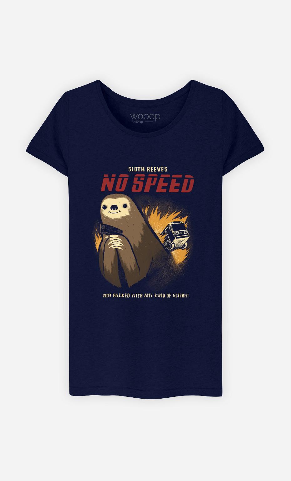 Woman T-Shirt No Speed