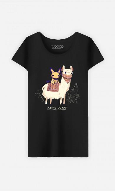 Woman T-Shirt Machu Pichu