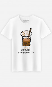 Man T-Shirt Bubble Tea