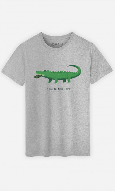 Man T-Shirt Cannibalism
