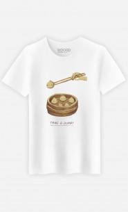 Man T-Shirt Take A Dump