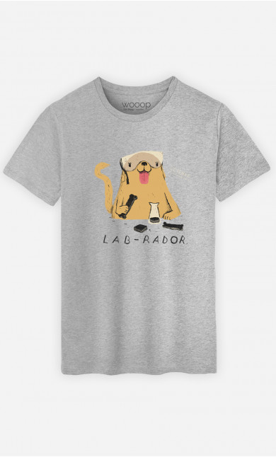 Man T-Shirt Labrador