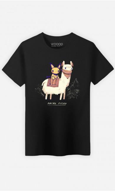 Man T-Shirt Machu Pichu