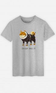Man T-Shirt Shiba Inuit